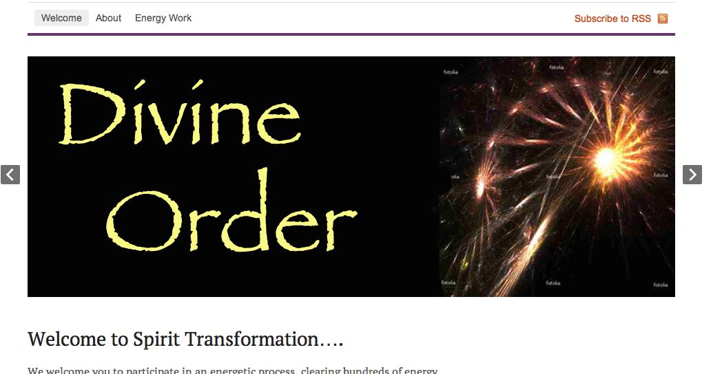 Divine Order slide